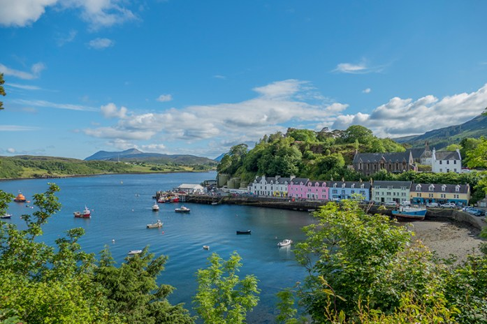 Visitar a ilha de Skye: Portree