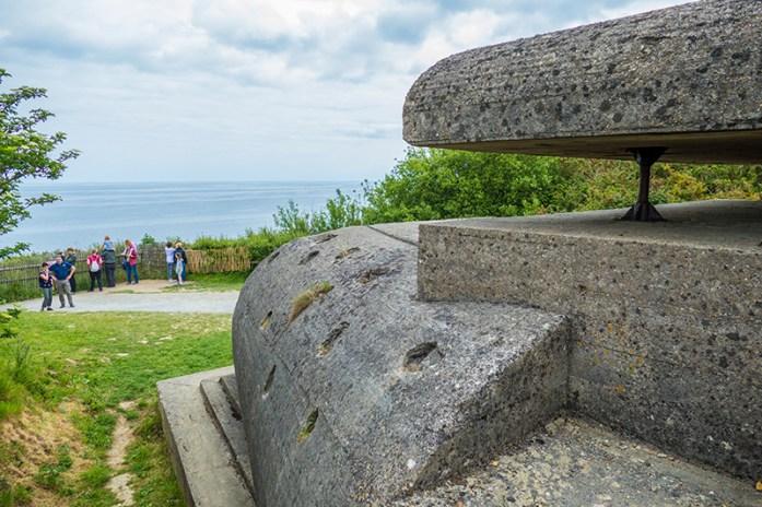 German batterie Longues-sur-Mer