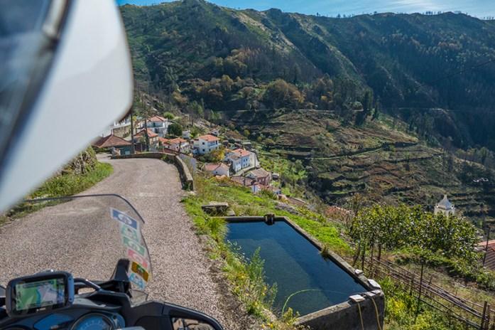 Roteiro de viagem de mota pela Serra do Açor