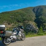Roteiro de viagem de mota pela Serra do Açor, Portugal