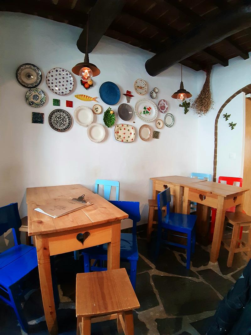 Restaurante O Gaspacho, junto ao Castelo de Monsaraz