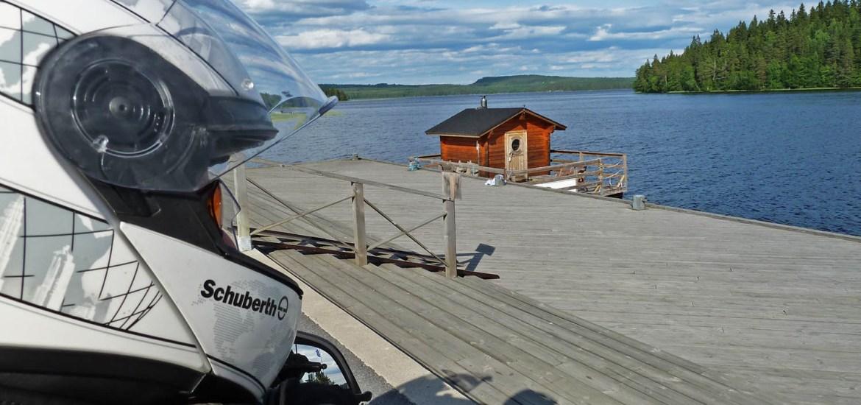 Viagem de mota pela Finlândia,