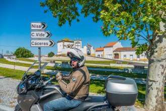 Serra de São Mamede. Viagens de mota por Portugal