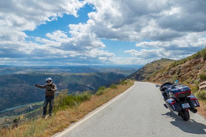 Estrada panorâmica de Poiares CM1181