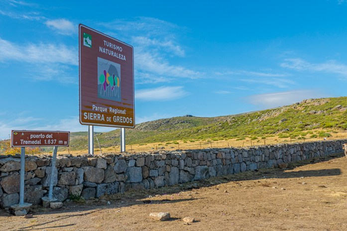Viagem de mota pela Serra de Gredos