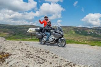 Roteiro de viagem de mota pela serra de Montemuro