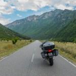 Como chegar à Albânia de mota