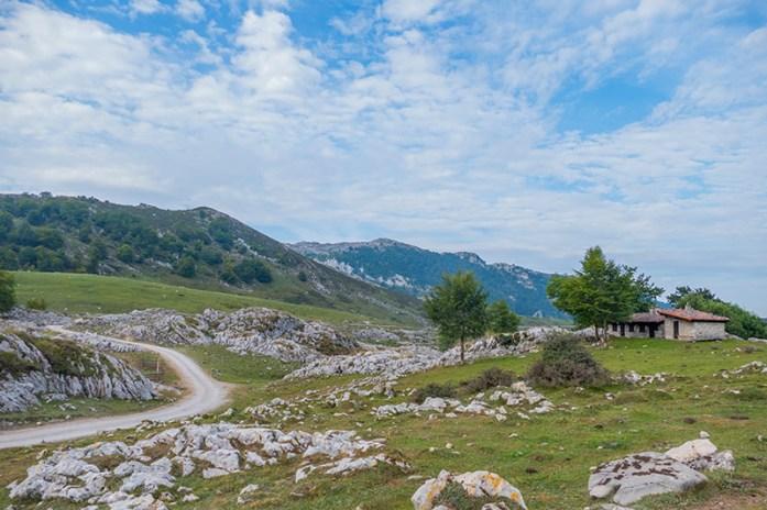Picos de Europa: acesso ao Miradol del Rey