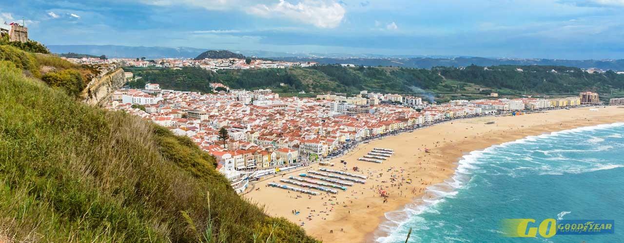 Praia Nazaré - Quilometrosquecontam