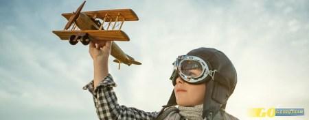 Aviões, motas e karts: crianças a voar baixinho!