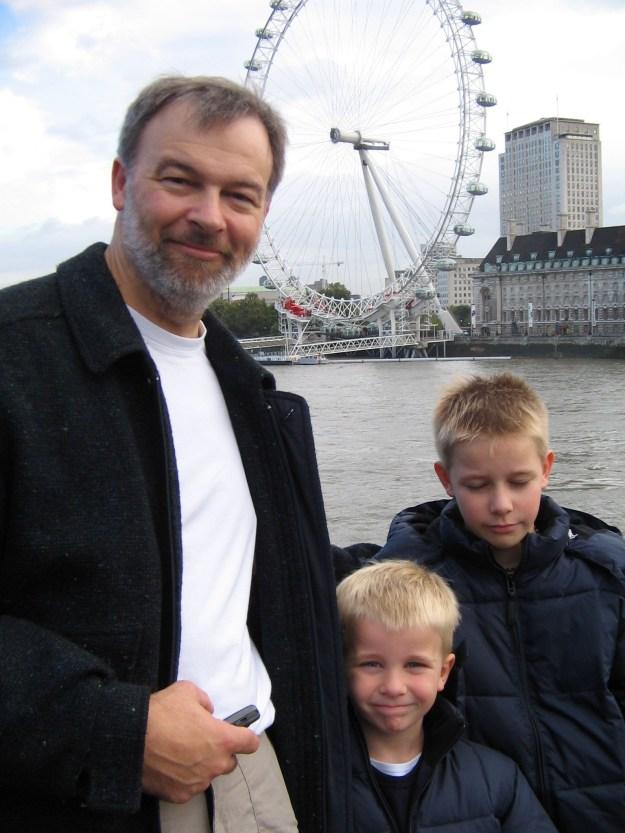 London Eye - all the Boys 251005