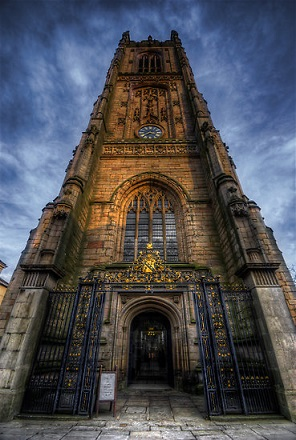 Derby_Cathedral_-_Tower
