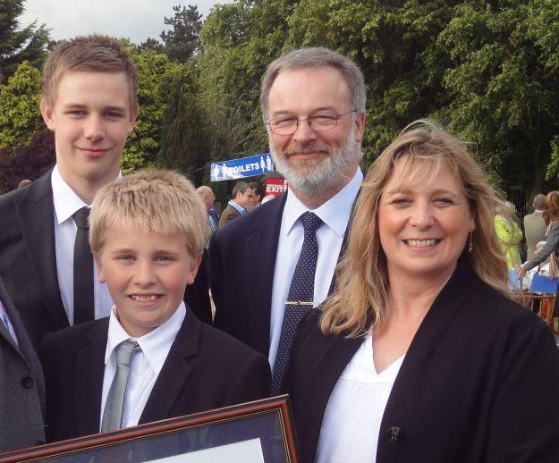 Family Parr 2011