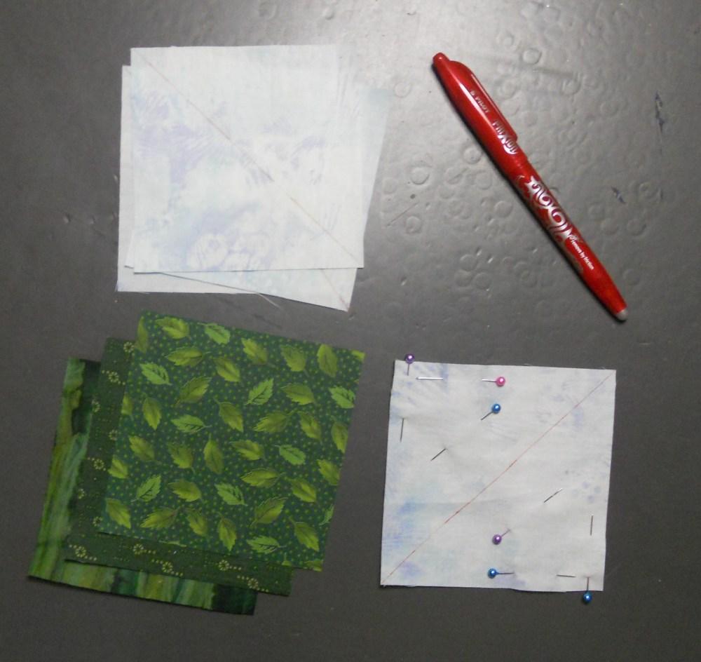 Treeline Border for Turtles Quilt (2/6)