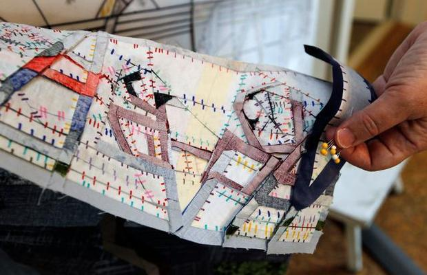 Artist Ann Harwell Has Her Say in Quilts -- Raleigh News and Observer, September 6 2013