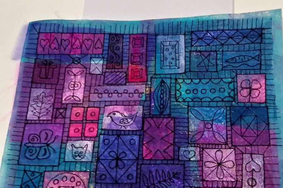 Workshop transparante quilt