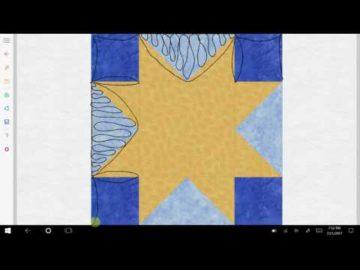 Sawtooth Star Variation #3