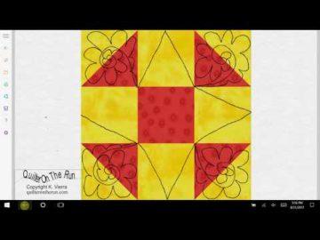 Shoofly Quilt Block Quilting Ideas Variation #6