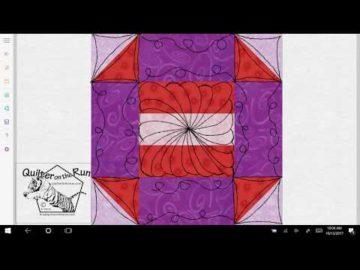 Churn Dash Quilting Idea Variation #4