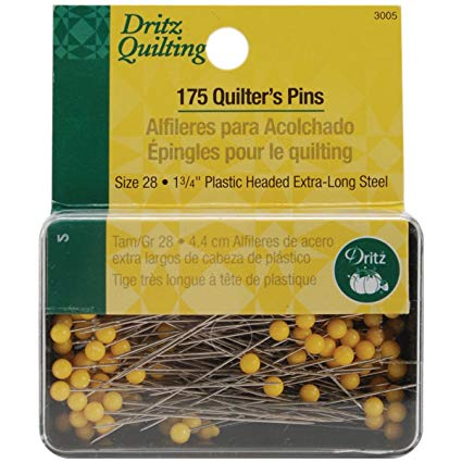 Dritz Brand Straight Quilting Pins
