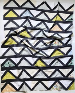 Playground Fabrics By Dylan in a Cafe Tiles Quilt Top