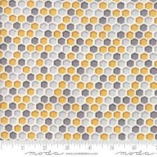honeycomb grey gold