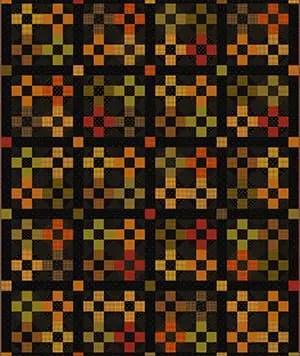 Pumpkin Patch Plaids Quilt Design
