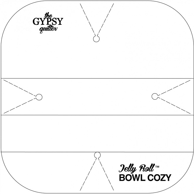 jelly roll bowl cozy template by gypsy
