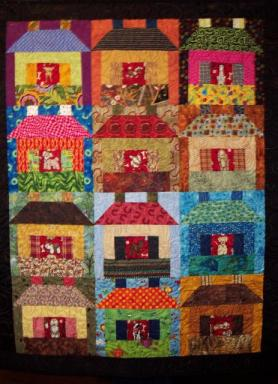 Scarlett's Kennel Club quilt