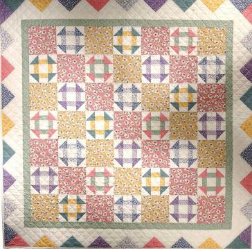 Free Pattern Vintage Churn Dash Quilt Quilting