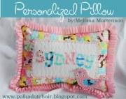 Birdie pillow