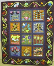sue spargo flowerbed quilt