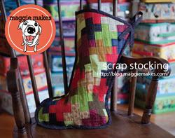 scraps stocking maggie makes