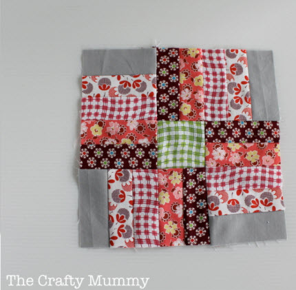 Feb quilt block Craftsy BOM 2013