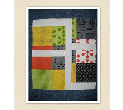 Tutorial Fractured Nine Patch Quilt Block Quilting