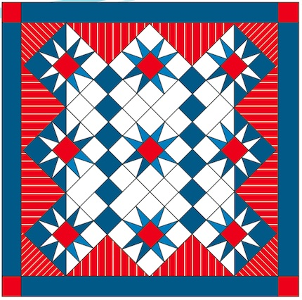 March 2013 quilt pattern