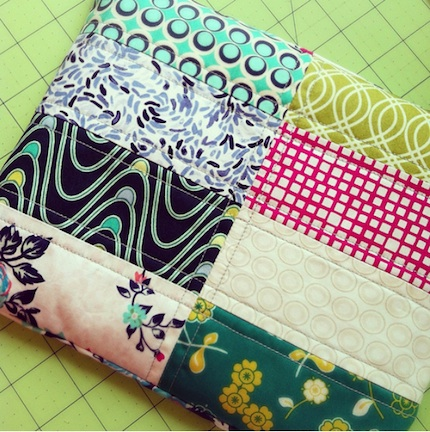 quilted heating pad tutorial