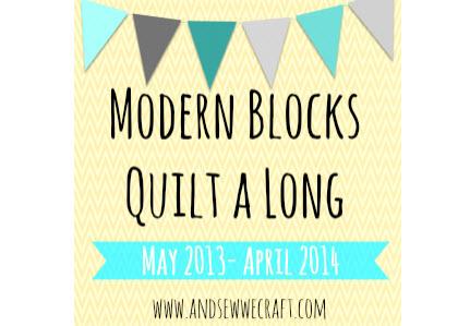 Modern Blocks Quilt Along