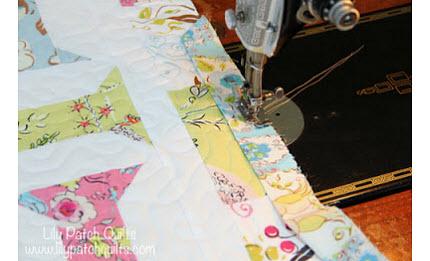 Tutorial: Binding a quilt with less bulk
