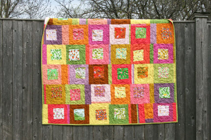 Briar Rose Strawberry Patch quilt