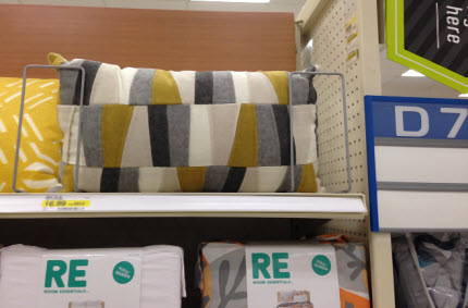 Target patchwork pillow