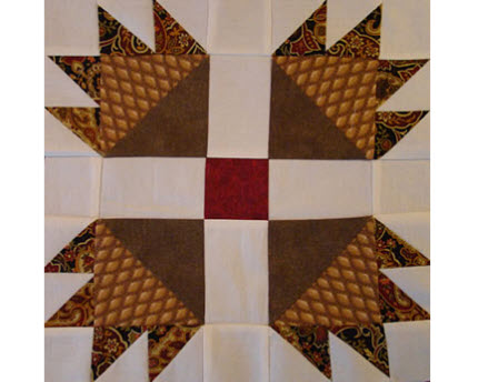 Tutorial: Bear's Paw quilt block – Quilting : bear paw quilt pattern - Adamdwight.com