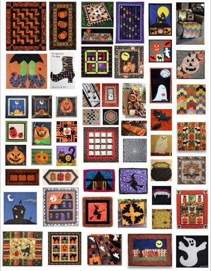 Roundup 10 Inspiring Budget Friendly Bedroom Makeovers: Roundup Halloween Quilts
