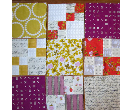 Penny Patch quilt along for beginners