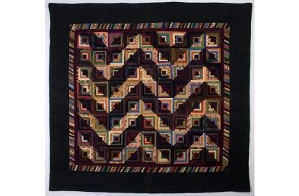 Antique Streak of Lightening quilt