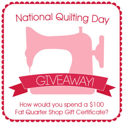 National Quilting Day Giveaway
