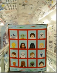 LEGO star Wars quilt in the space shuttle_thumb[3]