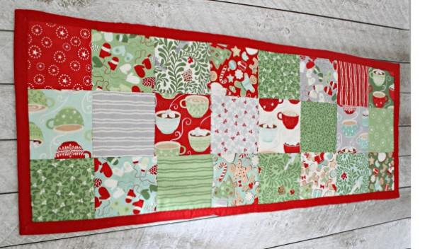 Quick and easy table runner – Quilting
