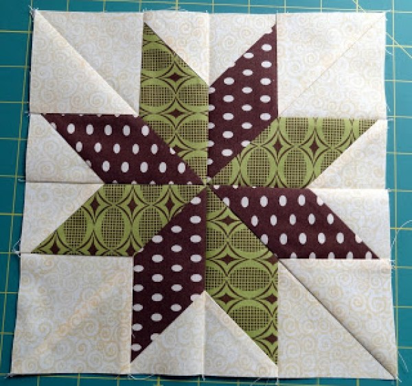 Free Quilt Pattern For 8 Point Star : 8 Star Quilt Blocks Quilting