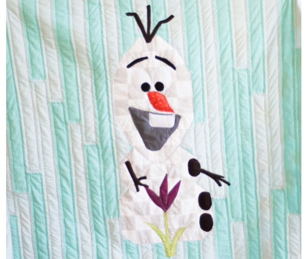 Olaf quilt free pattern